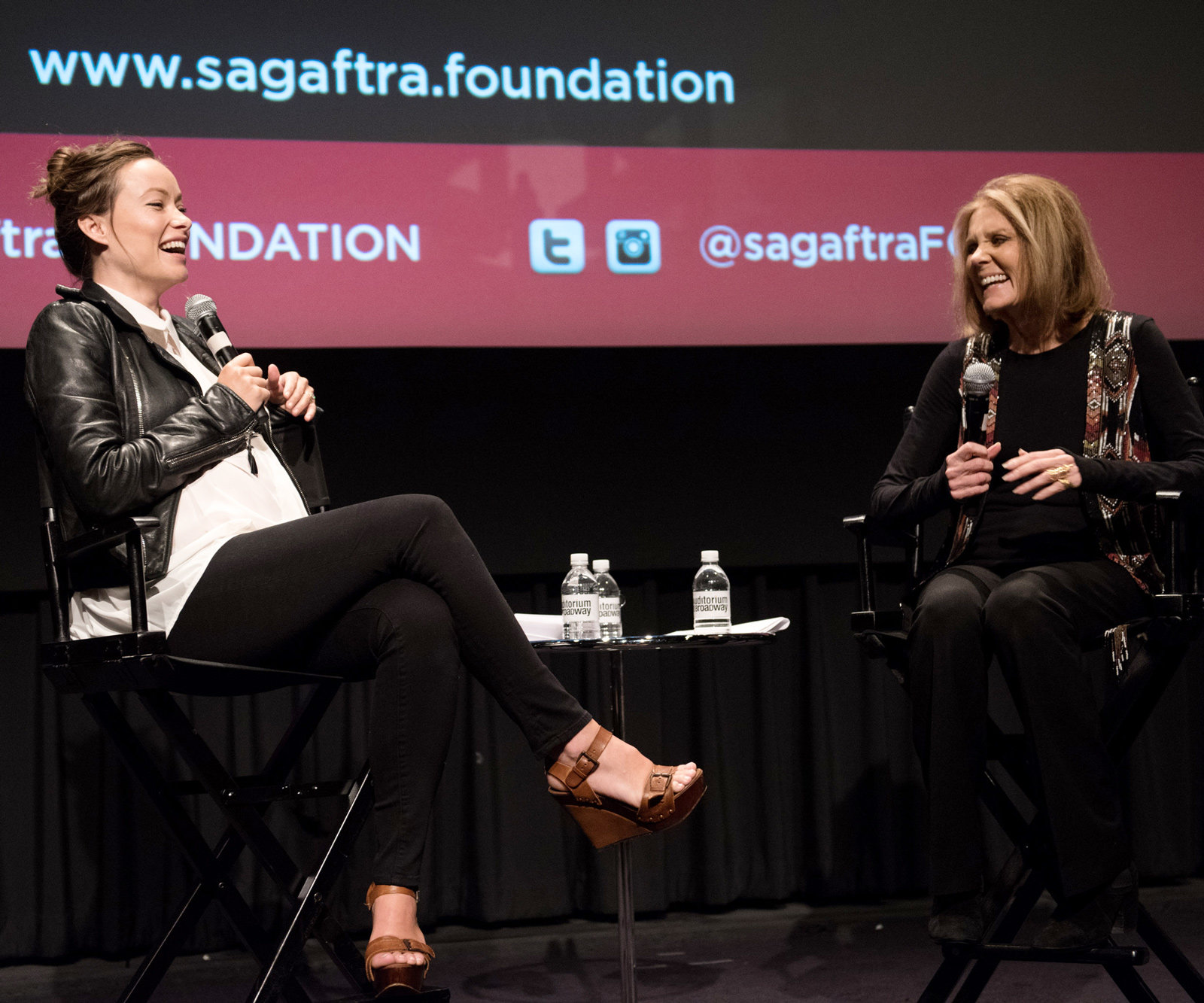 Olivia Wilde and Gloria Steinem - Lead