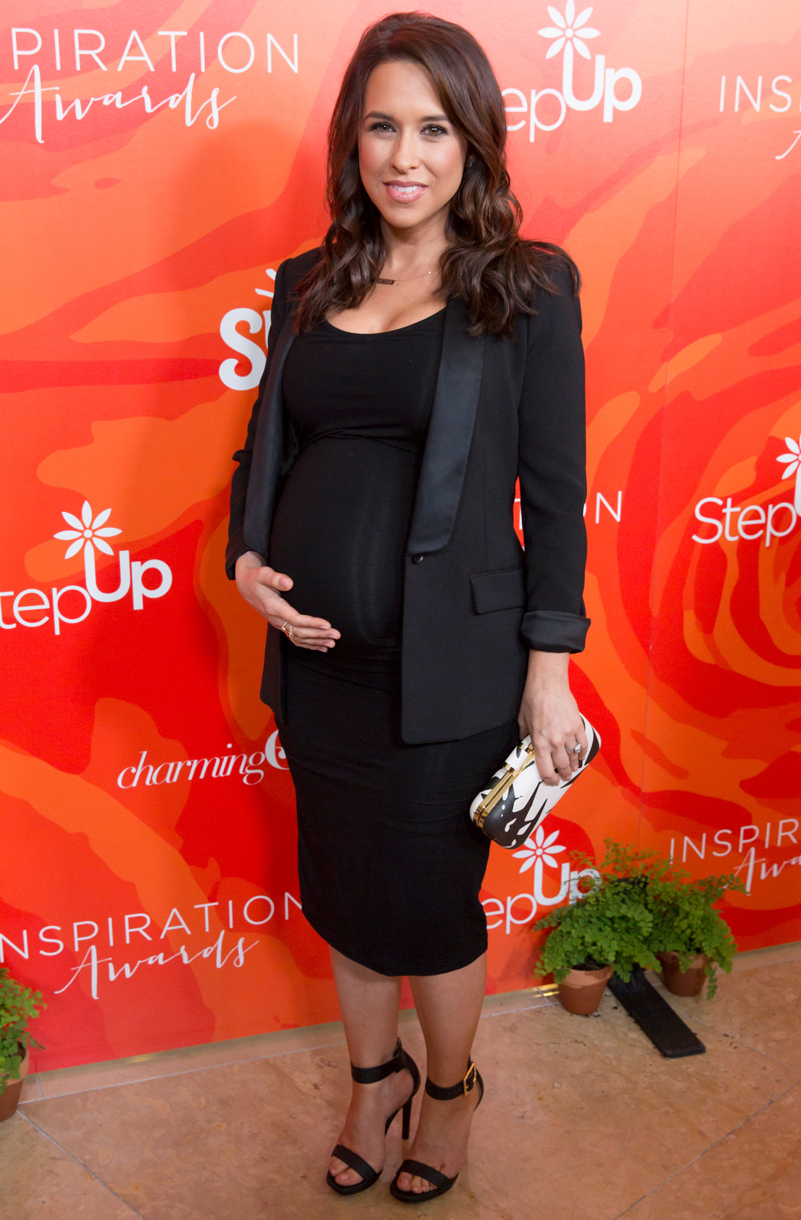 Lacey Chabert Baby Embed