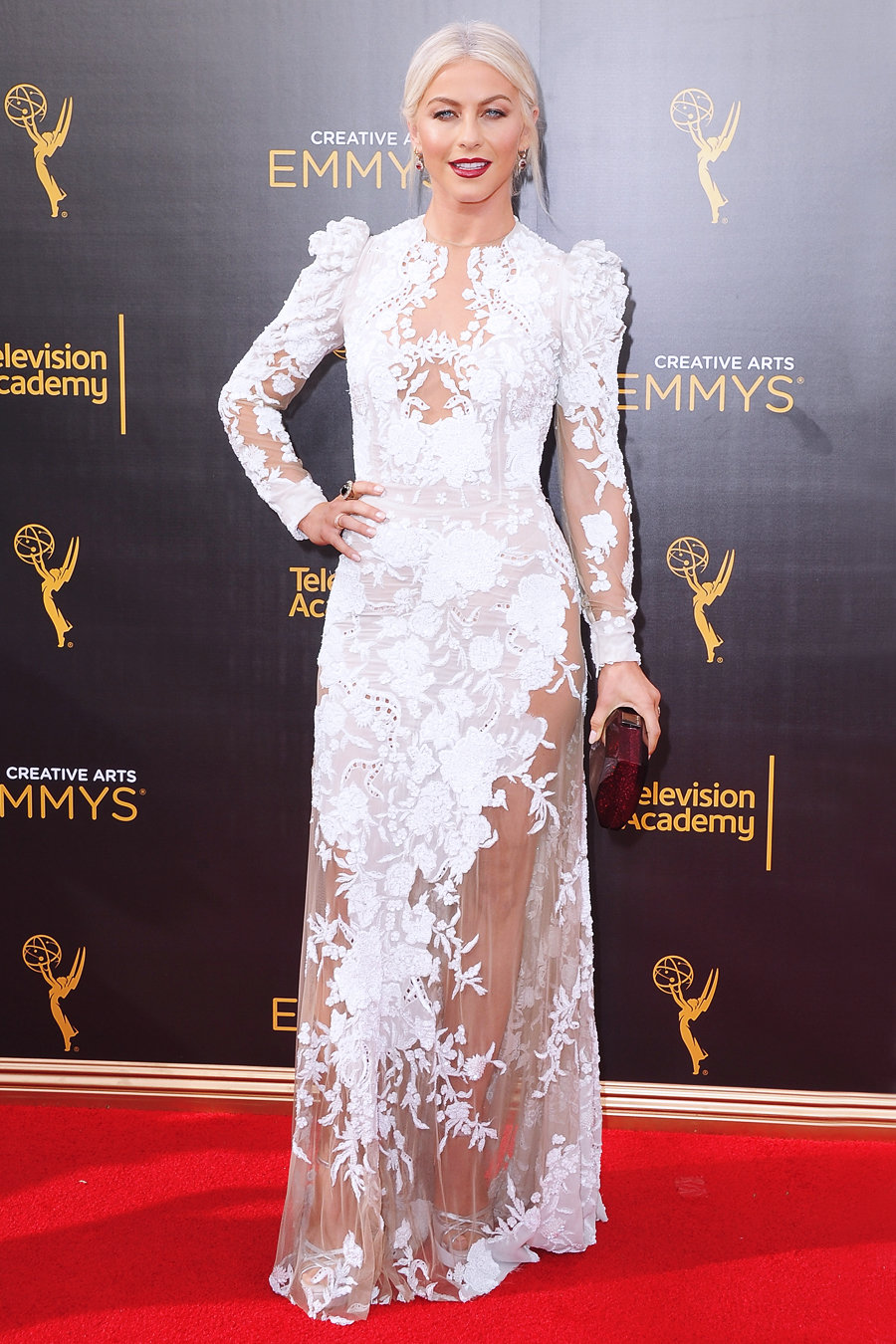 Creative Emmys Arrivals Hough - Embed 2016