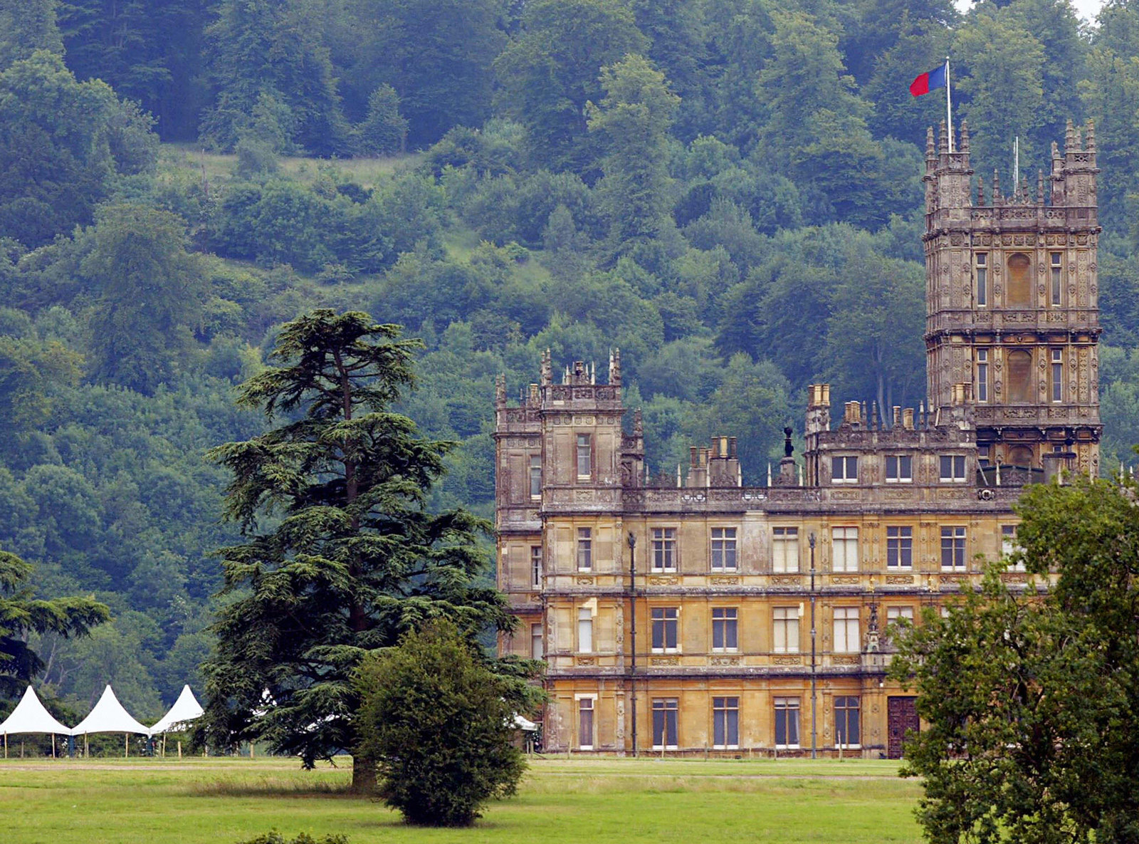 TV Show Destination - Highclere Castle from Downtown Abbey