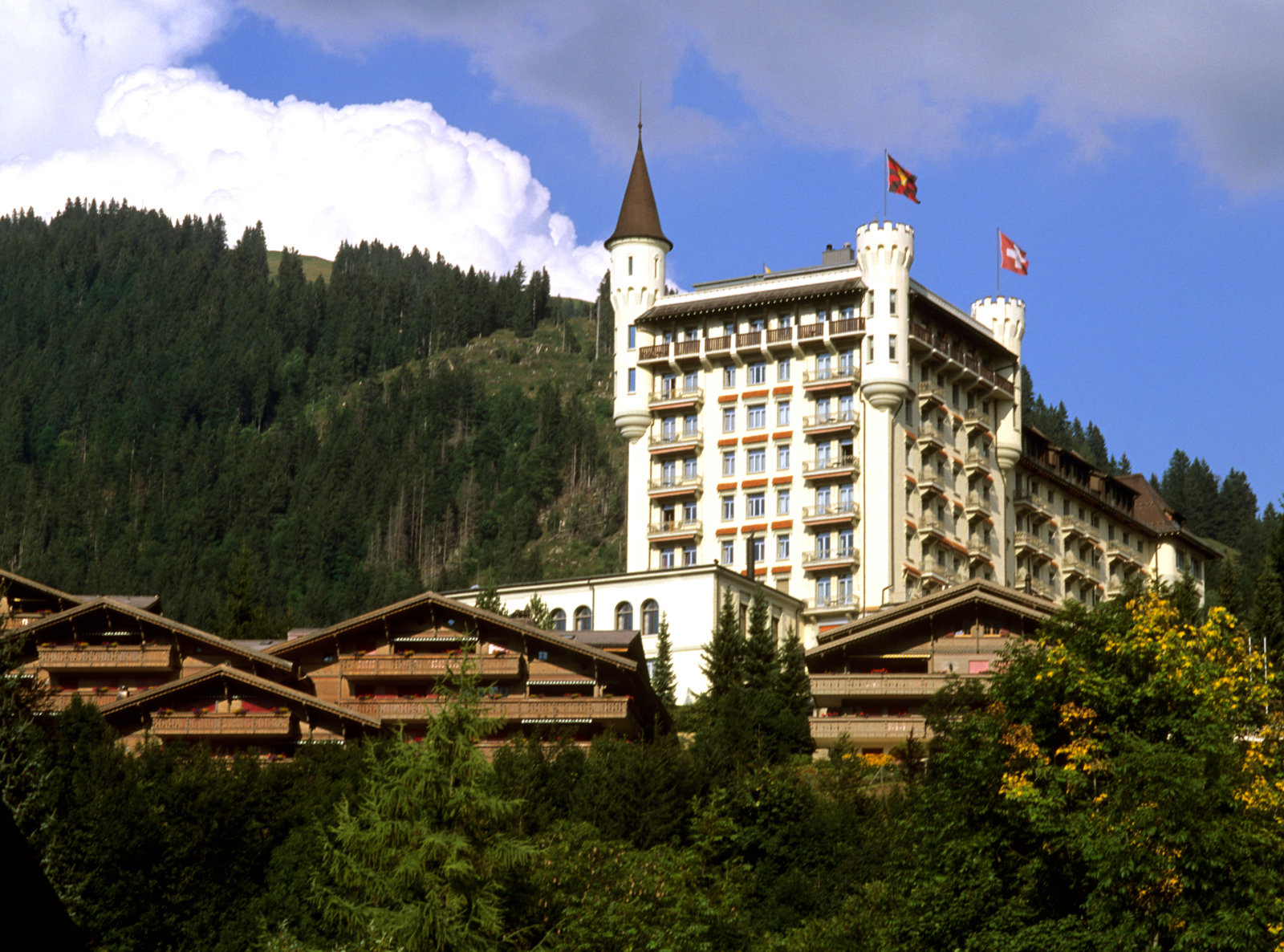 TV Show Destination - Gstaad Palace from Archer