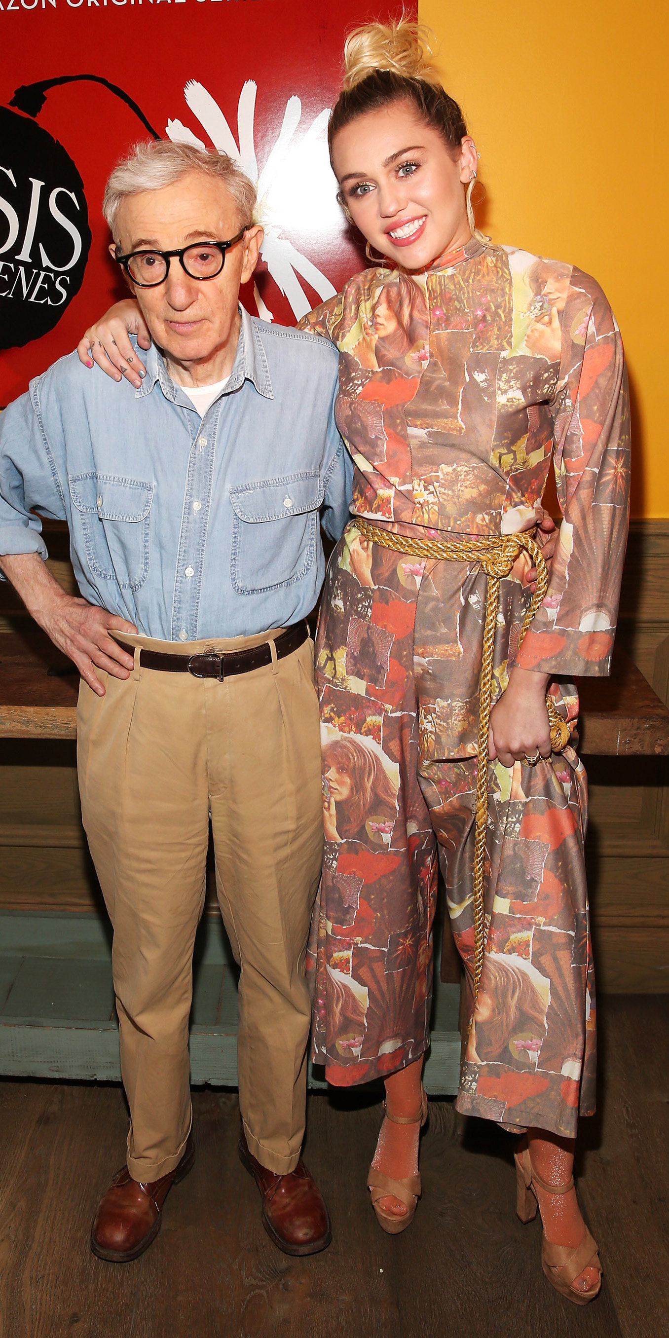 Miley Cyrus and Woody Allen - Embed