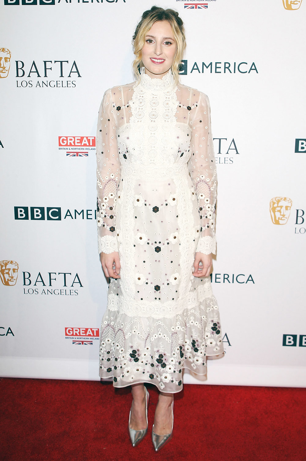 WEST HOLLYWOOD, CA - SEPTEMBER 17:  Laura Carmichael arrives at the BBC America BAFTA Los Angeles TV Tea Party 2016 held at The London Hotel on September 17, 2016 in West Hollywood, California.  (Photo by Michael Tran/FilmMagic)