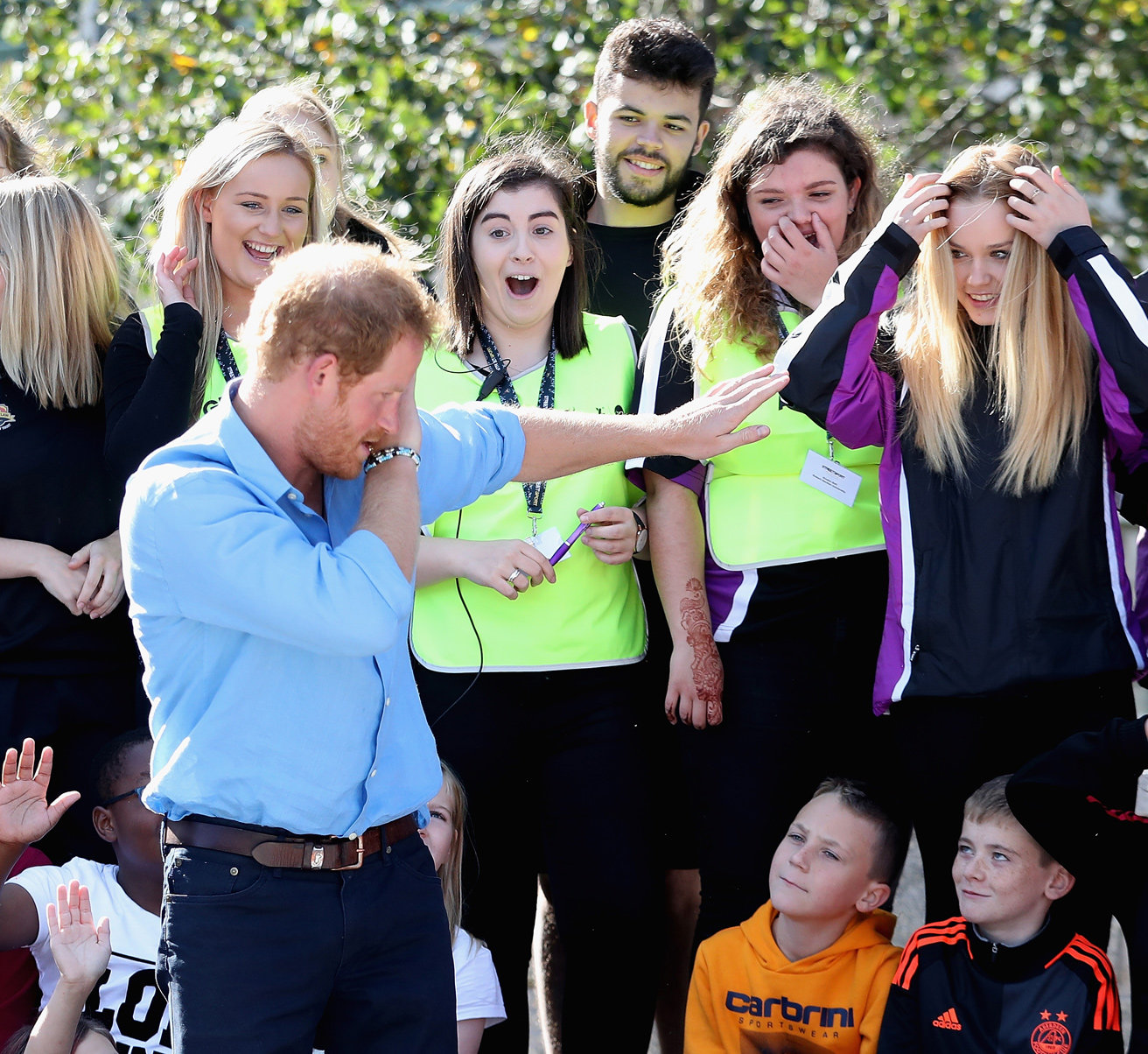 Prince Harry in Aberdeen - Embed 2