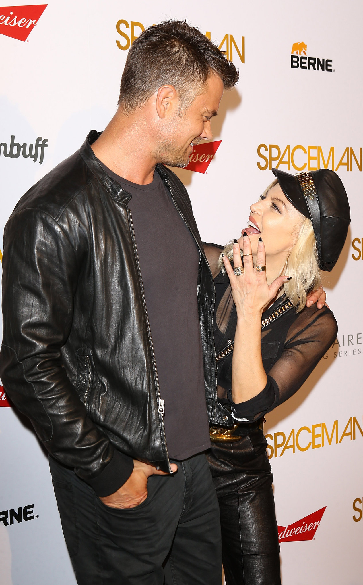 WEST HOLLYWOOD, CA - AUGUST 07:  Josh Duhamel and Stacy Ann Ferguson aka Fergie arrive at the Los Angeles premiere of Orion Pictures'  Spaceman  held at The London Hotel on August 7, 2016 in West Hollywood, California.  (Photo by Michael Tran/FilmMagic)