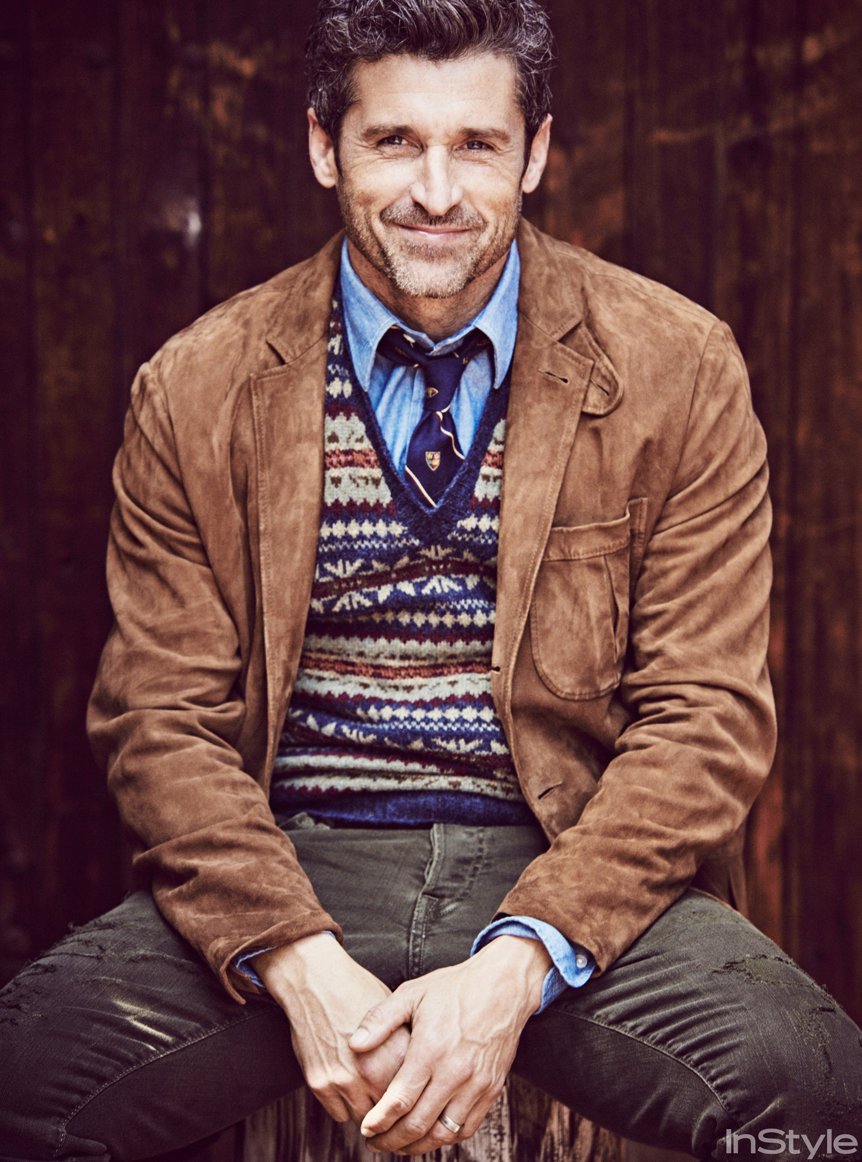 Patrick Dempsey Talks Love Style And Bridget Joness Baby Instylecom
