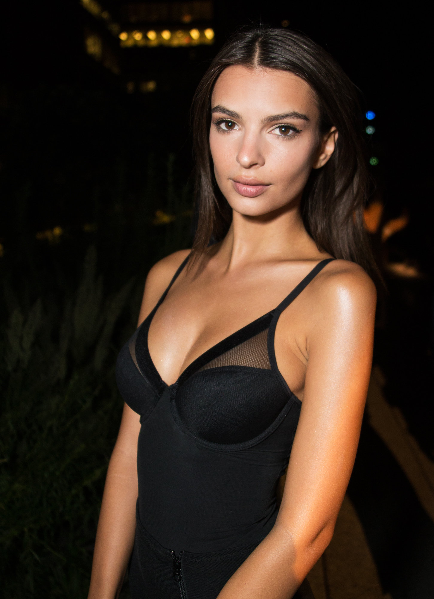 Emily Ratajkowski - DKNY Women's SS 2017 - September 12, 2016