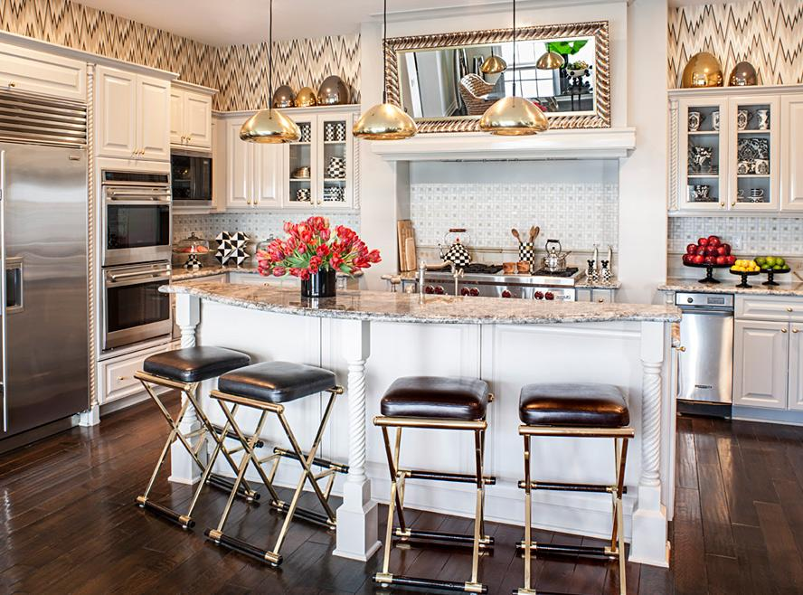 Exclusive peek inside kourtney kardashian 39 s california - Kourtney kardashian kitchen chairs ...