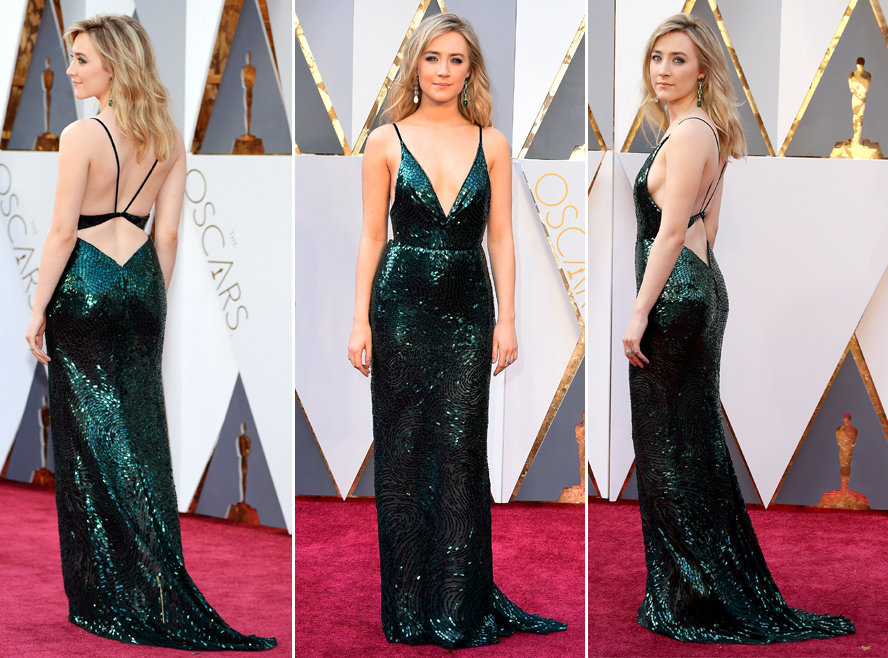 Top Searched Oscar Dresses - Saoirse Ronan