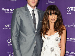 LOS ANGELES, CA - JUNE 08:  Actor Cory Monteith and actress Lea Michele attend the 12th annual Chrysalis Butterfly Ball on June 8, 2013 in Los Angeles, California.  (Photo by Jason LaVeris/FilmMagic)