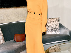 Saks Fifth Avenue Hosts Victoria Beckham for Fashion Q&A with Roopal Patel at New York Flagship on February 6, 2017 in New York City.