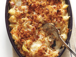 Winter Recipes - 4 Cheese Macaroni and Cheese with Bacon from Stephanie Izard