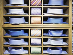 Men Shirt and Tie Combinations - Lead