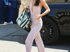 Kendall Jenner at Joan's on Third