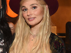 "Clare Bowen attends the ""Kacey for Lucchese"" Collection Launch Event on November 2, 2015 in Nashville, Tennessee."