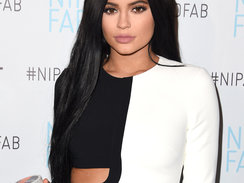 Kylie Jenner Announced As Brand Ambassador For Nip + Fab at W Hollywood on December 15, 2015 in Hollywood, California.