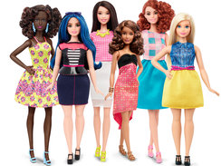 2016 Barbie® Fashionistas® Line: Barbie announced the expansion of its Fashionistas doll line to include three body types – tall, curvy and petite – and a variety of skin tones, hair styles and outfits.