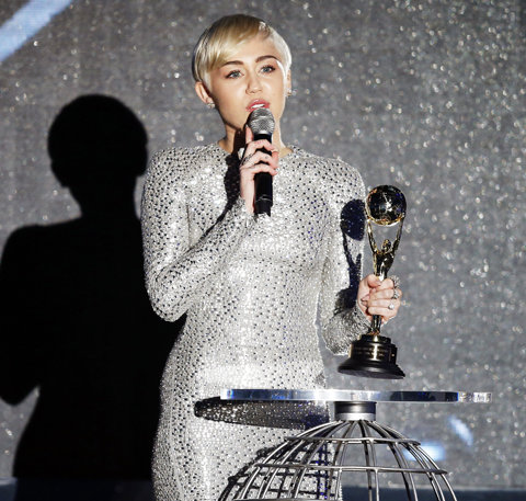 Miley Cyrus: World Music Awards