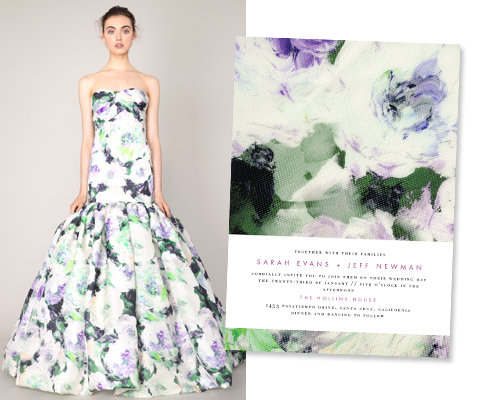 Marchesa for Wedding Paper Divas