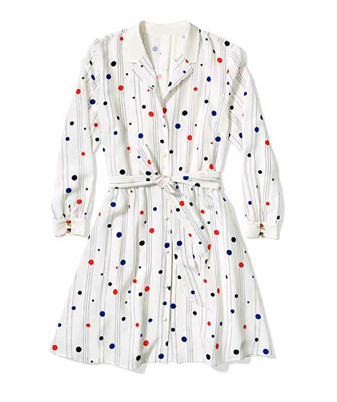 Zooey Deschanel for Tommy Hilfiger Whimsy Shirtdress