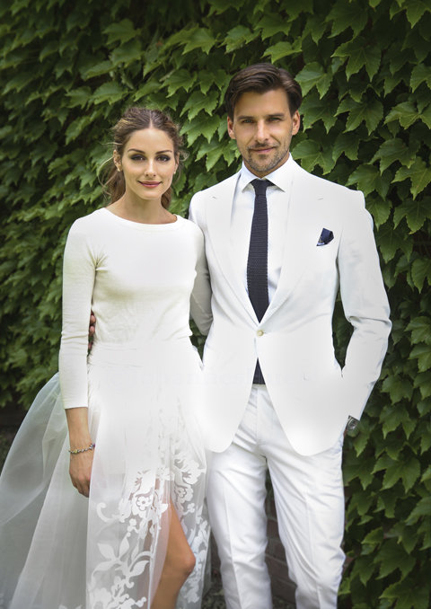 Olivia Palermo and Johannes Huebl Wedding