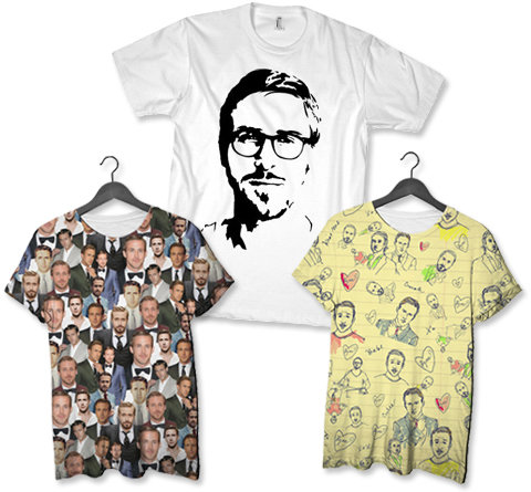 ryan gosling t-shirts