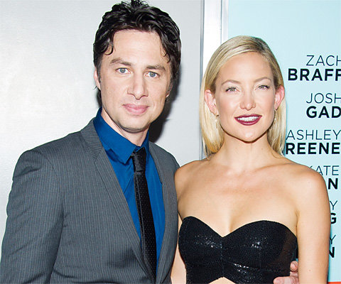 Zach Braff and Kate Hudson