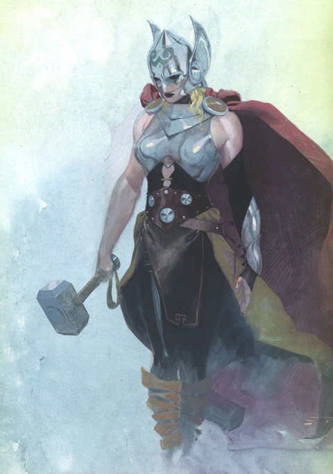 Marvel recasts Thor as a woman.