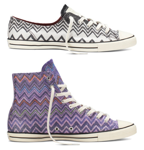 9fc4f2a0b5c5 Missoni and Converse Launch a New All Star Sneaker Collection ...
