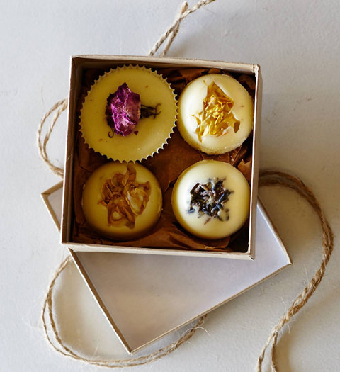 Bouquet Bath Truffles Made With Goat's Milk from Anthropologie