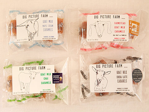 Farmstead Goat Milk Caramels from Big Picture Farm