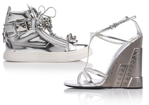 Harrods Silver Linings Shoes