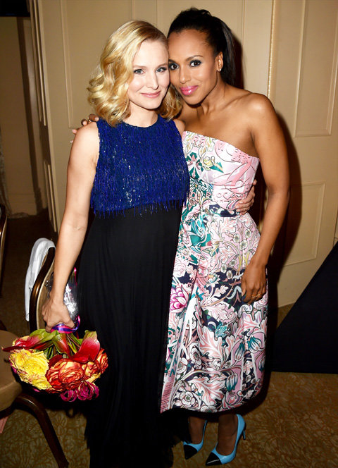 Kerry Washington and Kristen Bell