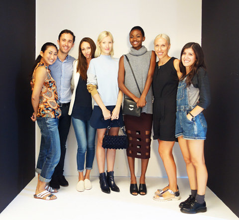 Photo shoot team at InStyle