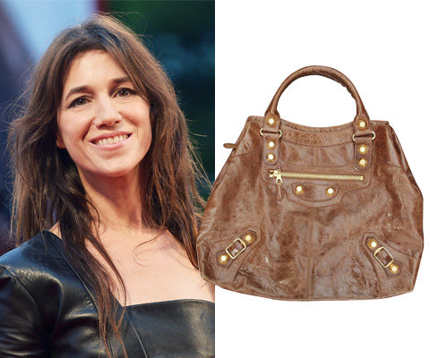 Charlotte Gainsbourg Balenciaga bag auction