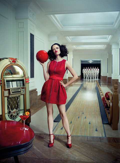 Eva Green in the 2014 Campari Calendar