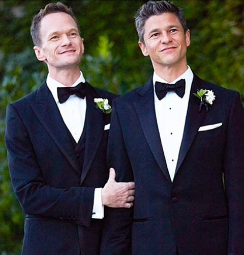 Neil Patrick Harris and David Burtka Wedding