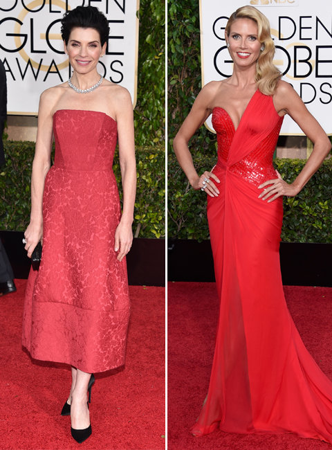 2015 Golden Globes: Red