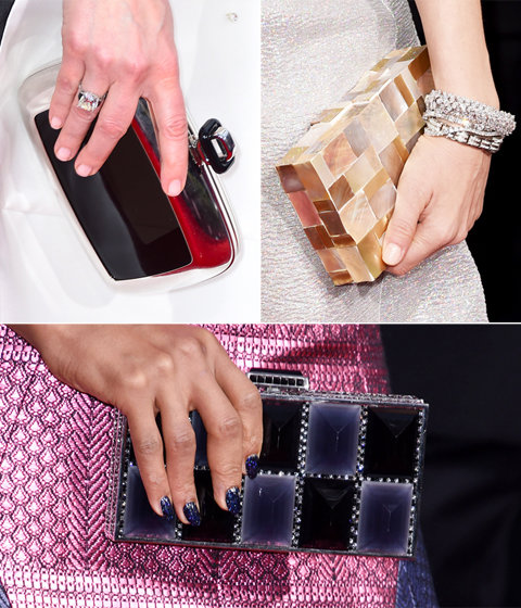 2015 Golden Globes Clutches