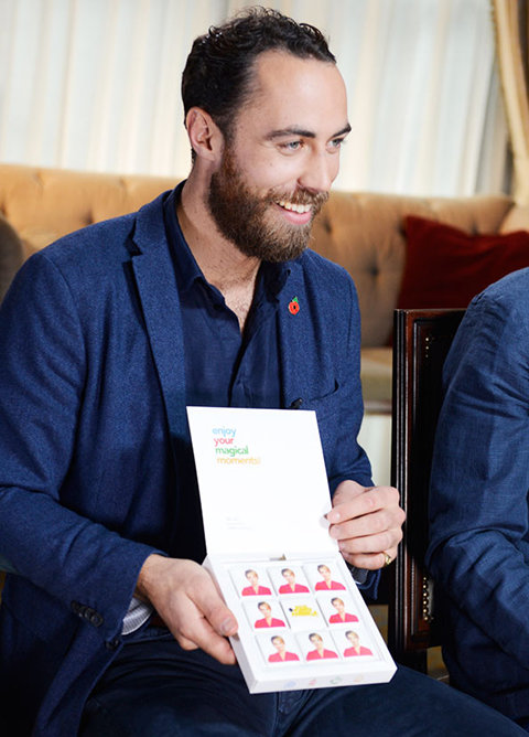 James Middleton and his Boomf Marshmallows