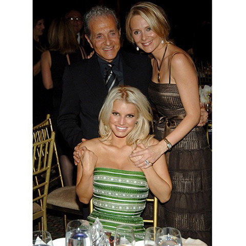 Jessica Simpson pays tribute to Vince Camuto.