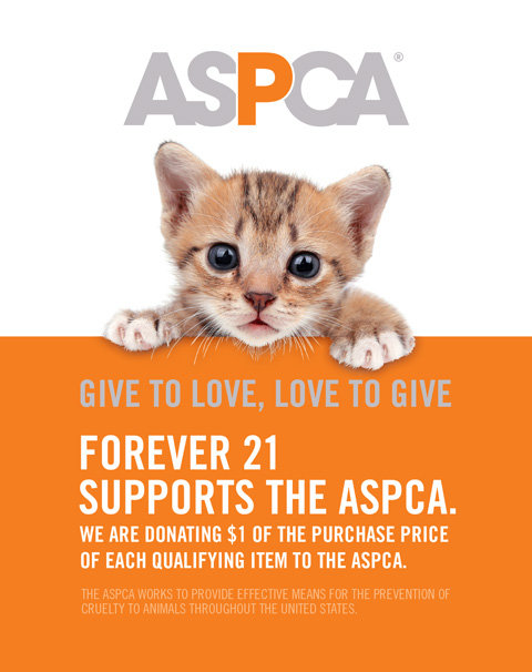 11ccffa658 Forever 21 x ASPCA s Collection of Pawesome Apparel