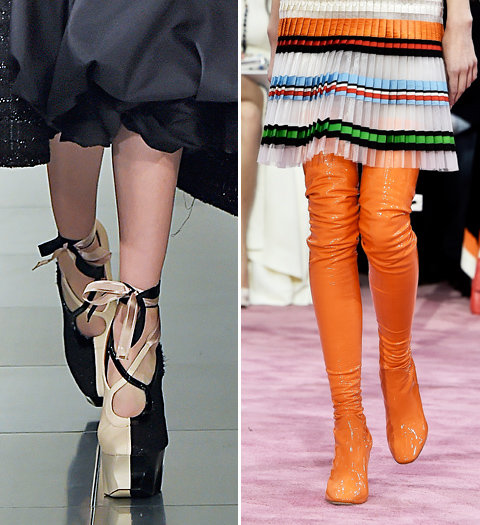 Shoes From Spring 2015 Couture Fashion Week