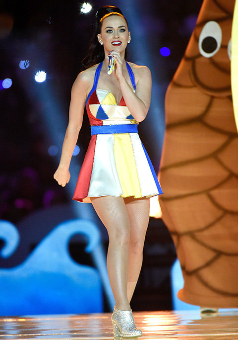 Katy Perry's Halftime Performance at Super Bowl