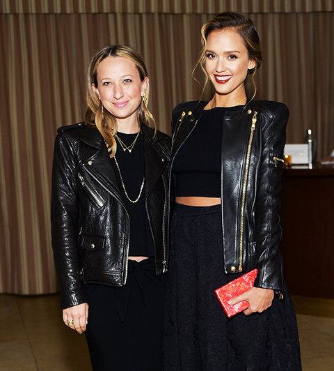 Jessica Alba and Jennifer Meyer