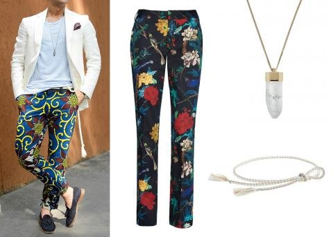 Know Your Belt with a Printed Pant