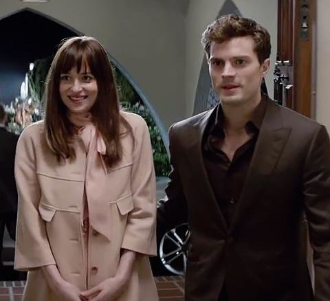 Christian Grey's Suits in Fifty Shades of Grey