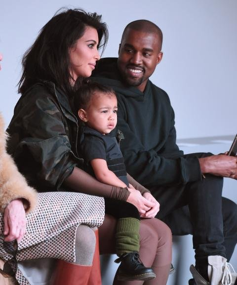 Baby North's NYFW Front-Row Fashion