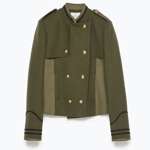 Images of Military inspired pieces