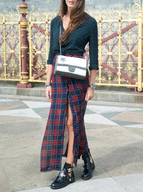 Street Style prints outfit #1